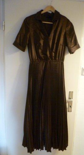 Madeleine Shirtwaist dress bronze-colored