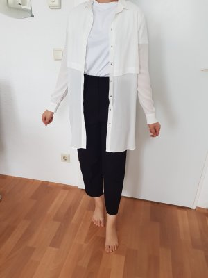 Mango Robe chemise blanc