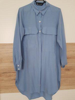 hemdblusenkleid von Zara neu