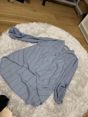 Chemise à manches courtes bleu azur