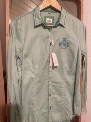 Milano Italy Shirt met lange mouwen grijs-groen