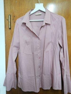 Julia Wang Robe chemise vieux rose