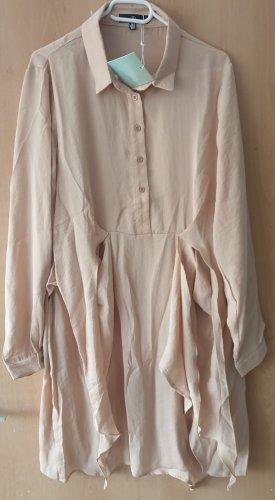 Missguided Shirtwaist dress cream