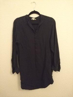 H&M Abito blusa camicia blu scuro