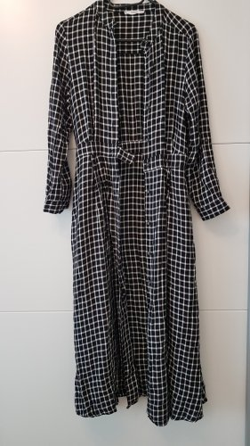 Mango Shirtwaist dress white-black