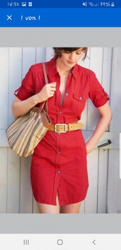 3 Suisses Shirtwaist dress red