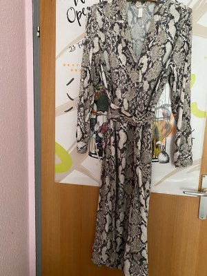 H&M Robe bustier multicolore