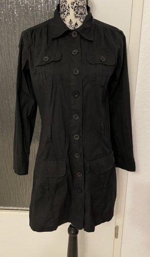 Hemdkleid in schwarz