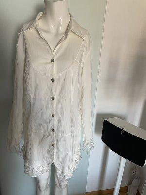 Hemdkleid Minikleid Kleid mit Spitze Gr 40 42 L  von my Look