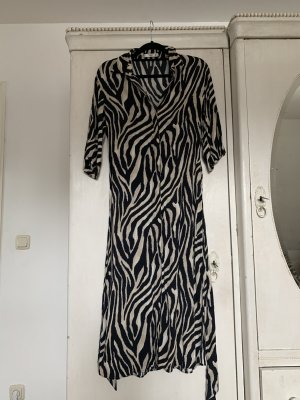 Hemdkleid mit Animal print (Zebra)