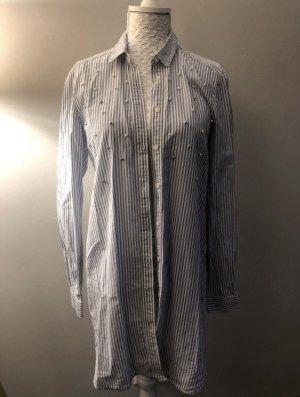 Mavi Shirtwaist dress azure-white