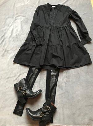 Samsøe & samsøe Shirtwaist dress black cotton