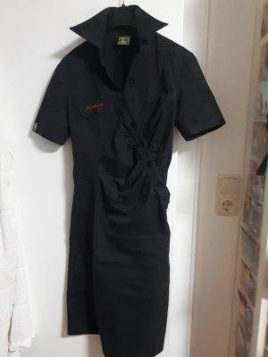 Skunkfunk Robe chemise noir