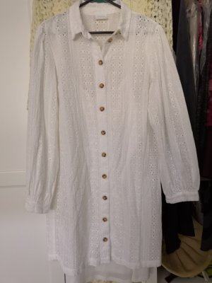 Vila Shirtwaist dress white