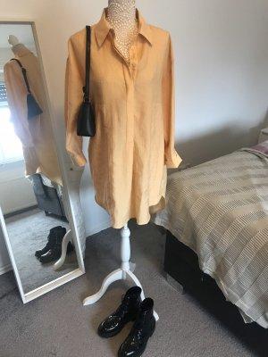 Hemdkleid Zara goldgelb