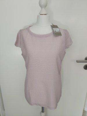 Hemisphere Bluse Shirt Grösse XS 34 altrose weiss