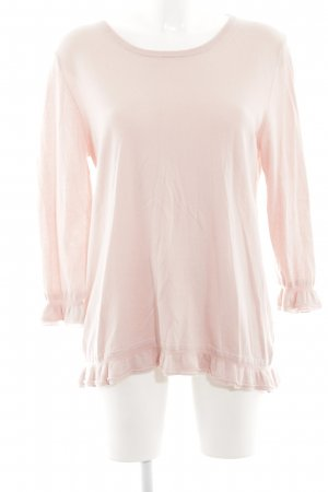 Hemisphere Cashmerepullover pink Casual-Look