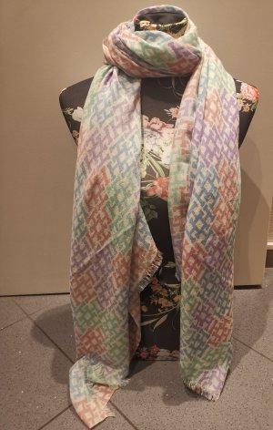 Hemisphere Cashmere Scarf azure-purple cashmere