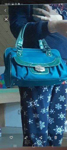 David Jones Carry Bag cadet blue-forest green