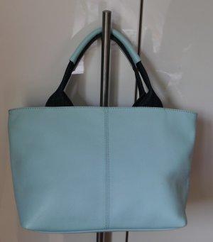 Henkel-Tasche - Handtasche - Mini Shopper - Pastell - Denim