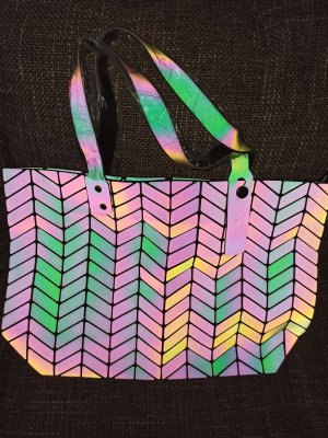 Henkeltasche Blogger geometrische Muster Lumination Neu