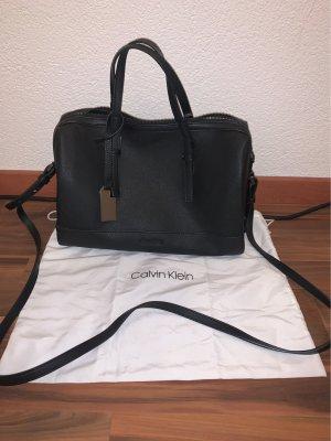 Calvin Klein Bolso barrel negro