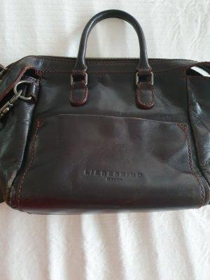 Liebeskind Berlin Carry Bag dark brown-brown red