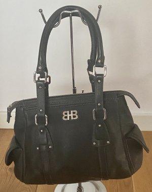 Hugo Boss Sac Baril noir-argenté cuir