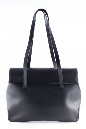 Henkeltasche schwarz Business-Look