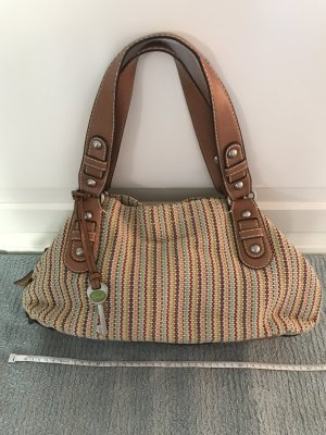 Fossil Carry Bag multicolored linen