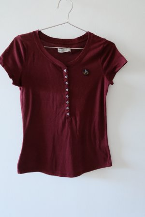 Abercrombie & Fitch T-Shirt dark red