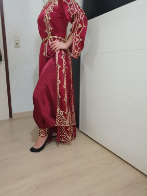 & other stories Evening Dress gold-colored-bordeaux