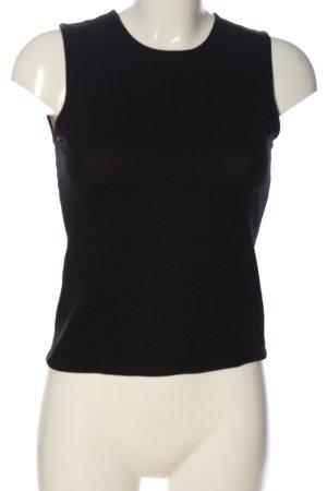 Hennes Basic Top schwarz Casual-Look