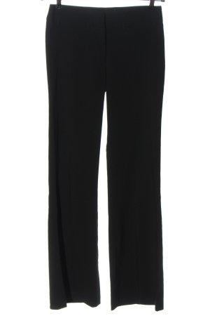 hennes Spodnie garniturowe czarny W stylu biznesowym