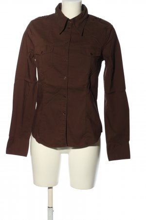 Hennes Collection by H&M Hemd-Bluse braun Business-Look
