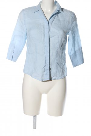 Hennes Collection by H&M Hemd-Bluse blau Casual-Look