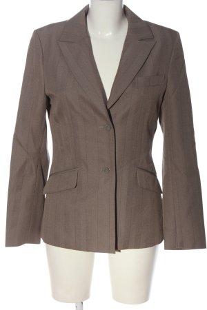 Hennes Collection by H&M Klassischer Blazer braun-schwarz meliert Casual-Look