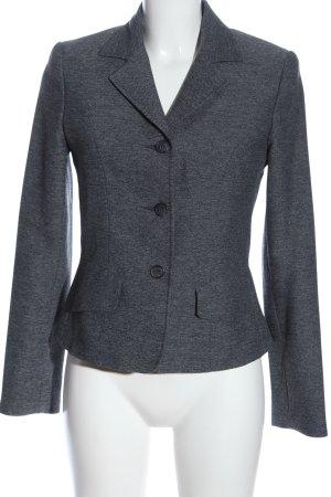 Hennes Collection by H&M Blazer corto negro-blanco Patrón de tejido