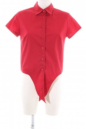 Hennes Collection by H&M Kurzarm-Bluse rot Casual-Look