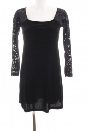 Hennes Collection by H&M Langarmkleid schwarz Elegant