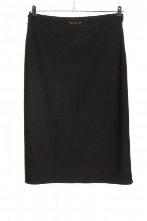 Hennes Collection by H&M Midirock schwarz Casual-Look
