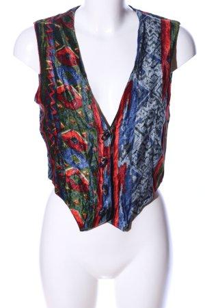 Hennes Collection by H&M Chaleco de punto estampado con diseño abstracto