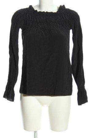 Hennes Blusa estilo Crash negro look casual