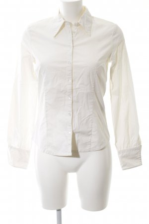 Hennes Hemd-Bluse wollweiß Business-Look