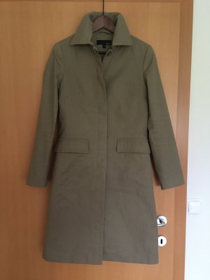 Hennes Collection by H&M Veste longue gris vert