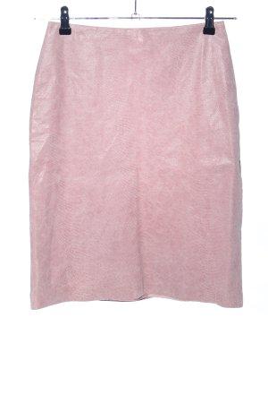 Hennes High Waist Rock pink Allover-Druck Casual-Look
