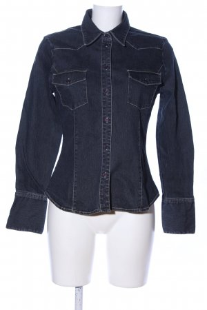 Hennes Jeansbluse blau Casual-Look