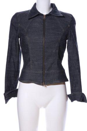 Hennes Jeansjacke blau meliert Casual-Look