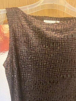 Ołówkowa sukienka brązowy
