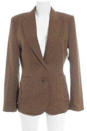 Hennes Kurz-Blazer braun Business-Look